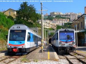 Ferrovie della Calabria: necessari provvedimenti drastici contro i writers