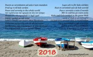 FOTO | Buon 2018 plurilingue dallo Stretto di Messina!
