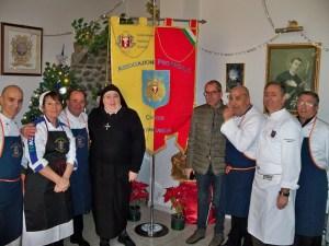 L'associazione Cuochi Catanzaresi visita la casa di riposo Suore Gerardine di Soverato Superiore