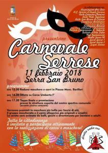 Serra San Bruno – Successo per la prima edizione del Carnevale serrese