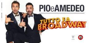 """Pio e Amedeo live con """"Tutto fa Broadway"""" alla Summer Arena di Soverato"""
