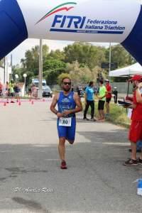 Successo di Salvatore Blaconà nel Triathlon sprint