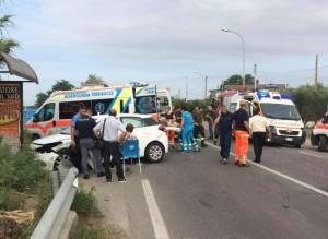 Incidente sulla Statale 106, traffico deviato