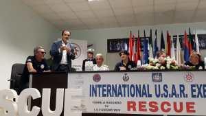 Il presidente della Provincia di Catanzaro a Torre di Ruggiero per l'Esercitazione Internazionale U.S.A.R.