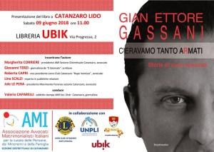 """A Catanzaro Lido si parla di cuori spezzati e violenza con Gian Ettore Gassani e """"C'eravamo tanto aRmati"""""""