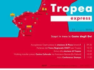 """Trenitalia e Regione Calabria presentano """"Tropea Express"""""""