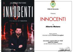 Il giornalista Rai Alberto Matano a Soverato per presentare il suo libro