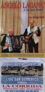 "Soverato – Sabato 4 agosto al Lido San Domenico la ""Corrida"""
