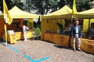 Coldiretti e Campagna Amica alla festa dell'uva di Catanzaro alla sua 88esimaedizione