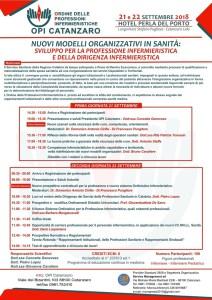 Catanzaro, sanità e nuovi modelli organizzativi nella professione infermieristica