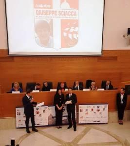 """Un calabrese tra i premiati del Premio Internazionale """"Giuseppe Sciacca"""""""