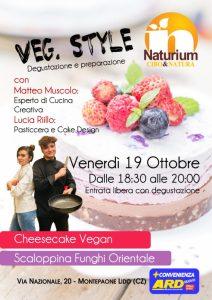 """Montepaone, domani degustazione gratuita vegana """"Naturium"""""""