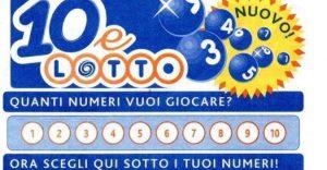 Vincita da 250 mila euro in Calabria al 10eLotto