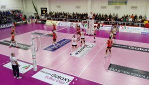 Sconfitta a testa alta del Volley Soverato contro Mondovì