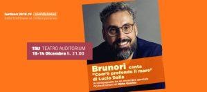 """Brunori Sas canta """"Com'è profondo il mare"""" di Lucio Dalla al Teatro Auditorium Unical"""