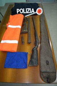 Detenevano fucili con matricola abrasa, padre e figlio arrestati