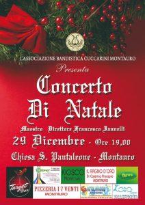 """Sabato 29 Dicembre a Montauro il """"Concerto di Natale"""""""