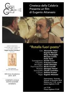 """Soverato – Venerdì 14 Dicembre la presentazione del film """"Rotella fuori posto"""""""
