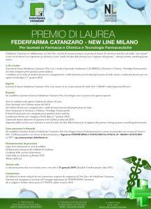 Borsa di studio di Federfarma Catanzaro a studenti Calabresi