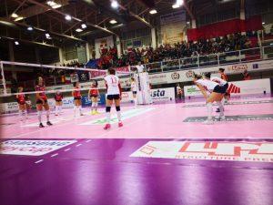 Il Volley Soverato batte in trasferta la capolista Mondovì