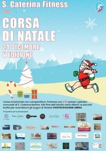 """Lunedì 24 Dicembre a Santa Caterina Jonio la V Edizione della """"Corsa di Natale"""""""