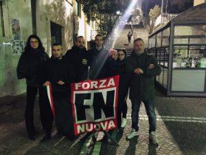 SINLAI e Forza Nuova in piazza a Catanzaro, contro la disoccupazione e lo spopolamento del Meridione