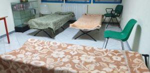 Catanzaro – Ondata di gelo, aperto il Centro sociale di Pontepiccolo per accogliere i senza tetto