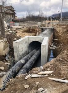 Prosegue la ricostruzione del ponticello stradale nel comune di Spadola