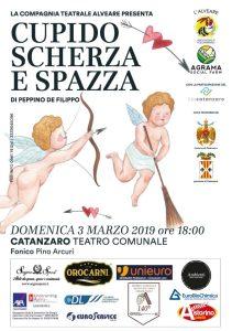 """Al Teatro Comunale di Catanzaro in scena """"Cupido scherza e spazza"""""""