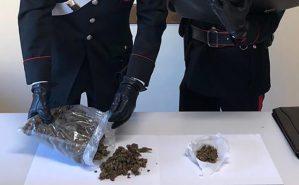 Marijuana nascosta nella stufa a legna, 27enne arrestato