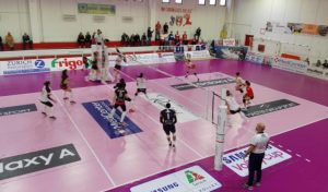 Un bel Volley Soverato supera in tre set Marignano