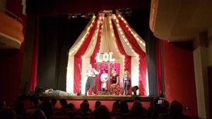 Chiaravalle, originale e travolgente lo spettacolo teatrale di Dandy & Diva