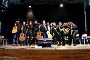 """Successo al Liceo Campanella di Lamezia Terme per la performance """"Il suono accanto"""""""