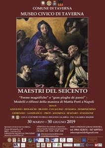 """A Taverna una mostra sui Maestri del Seicento """"Forme magnifiche"""" e """"gran pieghe dé panni"""""""