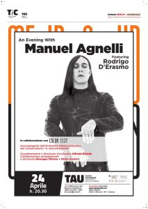 "Al Teatro Auditorium Unical arriva ""An Evening with Manuel Agnelli"""