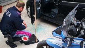 Bimba di 15 mesi rimane intrappolata in auto, rotto il finestrino e salvata da passanti