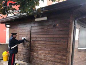 Chiuso dai carabinieri un chiosco frequentato da pregiudicati