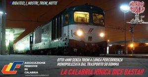 Lettera al Ministro per il Sud Barbara Lezzi sul ripristino InterCity Notte Reggio – Milano via Jonica
