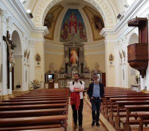 Chiaravalle Centrale, docenti spagnoli in visita al Convento