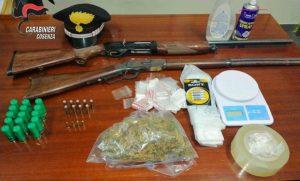 Trovate droga e armi in una palazzina disabitata