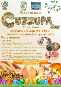"""Borgia – Sabato 13 Aprile la seconda edizione del """"Cuzzupa Day"""""""