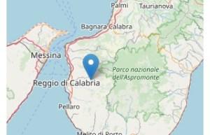 Scossa di terremoto in provincia di Reggio Calabria