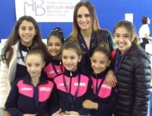 Le ginnaste della Kines in gara al V torneo internazionale di Morbegno