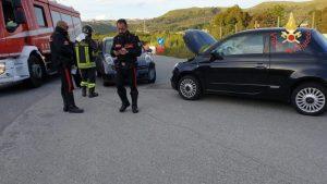 Scontro tra due auto nel catanzarese, feriti lievi