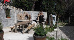 Forno e barbecue abusivi nel Parco d'Aspromonte, 35enne denunciato