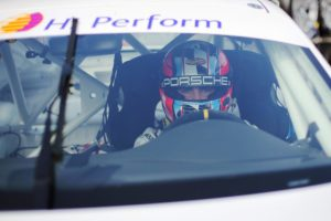 Il calabrese Simone Iaquinta a Misano per il secondo round della Carrera Cup Italia
