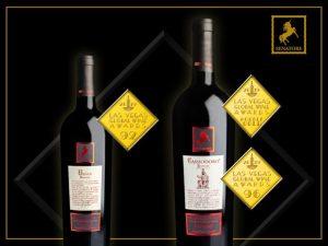 "Vini calabresi premiati con la medaglia d'oro al ""Las Vegas Global Wine Awards"""