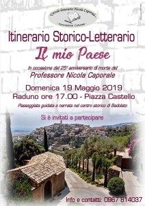 Badolato – Al via iniziative per il 25° anniversario di morte del professor Nicola Caporale