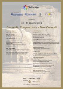 """A Tiriolo il 28 ed il 29 giugno l'incontro """"Comunità, Cooperazione e Beni Culturali"""""""