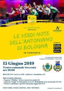 """""""Le Verdi Note dell'Antoniano"""" di Bologna il 15 Giugno in concerto a Soverato"""